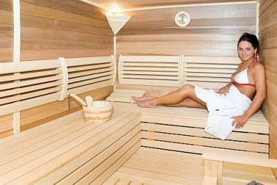 Airport Hotel Budapest the nearest Hotel to the Airport sauna - Airport Hotel Budapest**** - Discount hotel with free transport from the airport