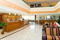 Reception et Hall de l'hotel Airport Hotel Budapest****