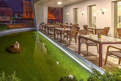 Hotel Anna Budapest - Romantic coffee shop in Buda - Hotel Anna*** Budapest - 3 stars hotel in Budapest