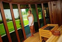 5* Azur Wellness Hotel Premium Lake Balaton panoramic sauna in Siófok