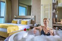 5* Hotel room with jacuzzi at the Azur Hotel Premium in Balaton