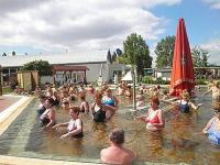 Outdoor thermal pools in Tiszakecske - Barack Hotel connected to the spa