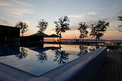 Apartments at lake Balaton with lake view in the BL Bavaria Apartmens and Yachtclub in Balatonlelle - BL Yacht Club*** Apartments Balatonlelle - yachtclub and apartments at lake Balaton at special price in Balatonlelle