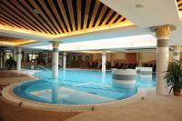 Swimming pool in Hotel Aquarell - accommodation in Cegled - 4-star wellness hotel Aquarell