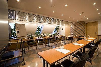 Conference room in the three corners hotel art in budapest for Ideal hotel design booking