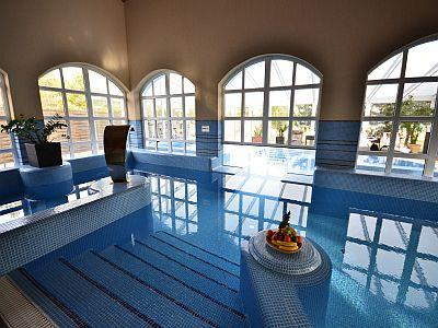 Huge wellness area for those who want to relax in Inarcs - Bodrogi Kúria**** Inárcs - discount wellness hotel near M5 highway in the vicinity of Budapest