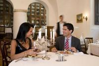 Restaurant of the Castle Hotel Hedervary - 4-star Castle Hotel in Hedervar