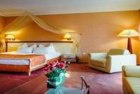 Elegant romantic hotel room in Cserkeszolo in Aqua-Spa Hotel 4*