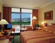 Room with panoramic view in 4 star hotel Danubius Health Spa Resort Helia
