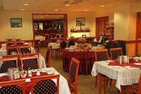Restaurant of Hotel Eben with cozy atmosphere and Hungarian specialities in Budapest