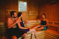 Finnish sauna in Elixir Medical Wellness Hotel in Morahalom -