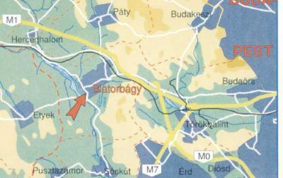 biatorbágy térkép Gida Udvar Biatorbágy   Térkép Gida Udvar Biatorbágy   Olcsó  biatorbágy térkép