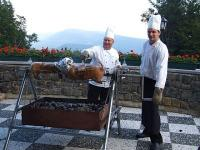 Weekend in Galyateto in Grand Hotel Galya**** - grillterras