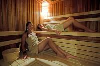 Sauna in Hotel Historia Veszprem with wellness services