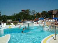 Adventure bath of Gyoparosfurdo with indoor and outdoor pools and big park - wellness weekend