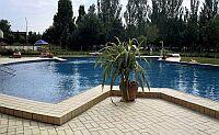 Swimming pool in Balatonfured Hotel Annabella  at lake Balaton