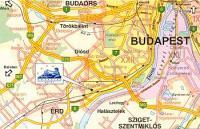Hotel Aquarius Budapest - Map - wellness Hotel Budapest