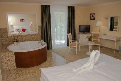 Chambre d 39 h tel avec la jacuzzi l 39 h tel calimbra de bien for Recherche hotel avec jacuzzi dans la chambre