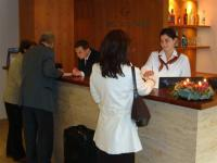 Reception in Hotel Castle Garden Budapest - new hotel in the Castle District