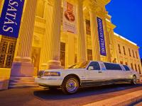 Unique service in City Hotel Szeged - transfer with an elegant limousine