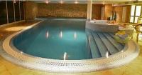Indoor pool in Echo Residence All Suite Luxury Hotel in Tihany