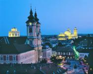Centre of Eger - panoramic view - Hunguest Hotel Flora