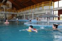 Fun bath in the thermal bath of Zalakaros - Hunguest Hotel Freya