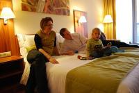 Family Wellness Hotel in Gyula offers convenient and friendly family room