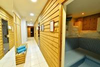In Hotel Irottko Finnish and infra sauna awaits the guests in Koszeg