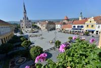 Accommodation in Koszeg in Hotel Irottko - sunny terrace in the heart of Koszeg