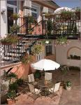 Terrace of Hotel Isabell - new 4 star hotel in Gyor - Hotel Isabell - Gyor - Hungary - Terrace