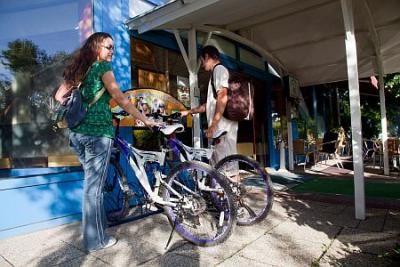 Rent-a-bike in Hotel Kristaly - low-priced packages with gratis cycling - Hotel Kristaly Keszthely*** - Wellness Hotel Kristaly at Lake Balaton with affordable prices