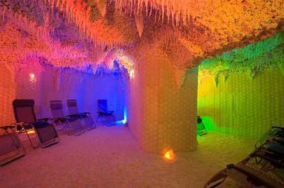 l 39 h tel lotus therme la caverne du sel de la mer week. Black Bedroom Furniture Sets. Home Design Ideas