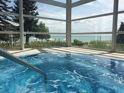 4* Wellness Hotel Marina-Port with jacuzzi in Balatonkenese - Hotel Marina Port**** Balatonkenese - 4-star wellness hotel at Lake Balaton