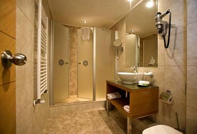 Bathroom in marmara design hotel boutique hotel in budapest