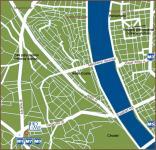 Budapest Hotel Mediterran - Stadtplan