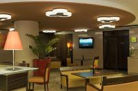 Фойе отеля Hotel Mercure City Center в Будапеште