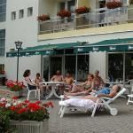 Terrace in Hotel Nagyerdo Debrecen - wellness and thermal hotel in Debrecen