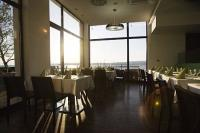 Restaurant with view to Lake Velence in Gardony - Vital Hotel Nautis