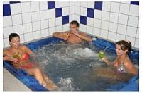 Jacuzzi a siófoki wellness hotel Panorámában