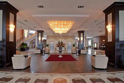 Wnętrze Nowoczesnego Hotelu Aquaworld Resort Budapest I