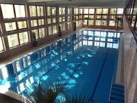 4* Wellness Hotel Bal Resort's swimming pool in Balatonalmadi