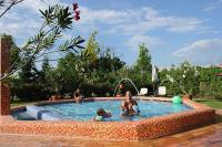 Fabulous Shiraz cheap wellness hotel in Egerszalok - the hotel's outdoor experience pool