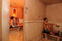 Hammam in the North African Bathhouse in the Fabulous Shiraz Hotel in Egerszalok