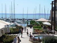 Mediterranean garden in Hotel Silverine Resort in Balatonfured