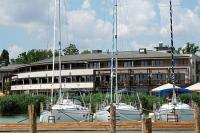 Yacht port of Hotel Silverine Resort**** in Balatonfured