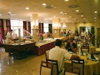 Restaurant in Thermal Hotel Hajduszoboszlo near the thermal bath