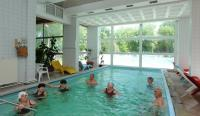 Indoor pool in Hotel Hoforras - Hungary - Hajduszoboszlo