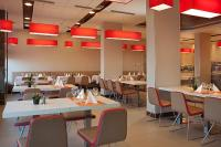 Restaurant in Hotel Ibis Budapest near the plaza called Europark