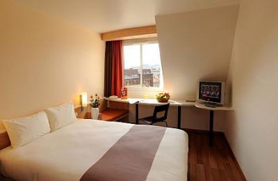 Chambre double avec lits s par s h tel ibis centrum budapest for Prix chambre hotel ibis